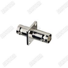 BNC-BNC-KK BNC Female to female flange 4 holes Adapter connector