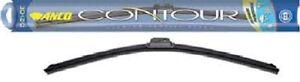 "Windshield Wiper Blade-Anco Contour Wiper Blade C-17-UB frameless 17 inch 17"""