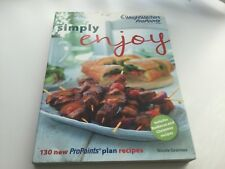 Weight Watchers Simply Enjoy Recipe Book ProPoints Plan 130 Reciepes