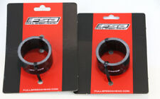 """2QTY FSA 20mm 1-1/8"""" Unidirectional Glossy Carbon Bike Headset Spacers NEW"""