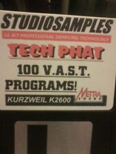 Kurzweil ~ V.A.S.T. TECH PHAT ~ 1 Bank of Native Kurzweil V.A.S.T Programs!!!