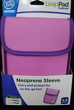 NEW Leap Frog LeapPad Explorer Neoprene Sleeve Pink 7IN. X 5.75IN.