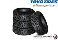 4 New Toyo Open Country MT 35X12.50R17 125Q 10P E-Load All Terrain Mud Tires