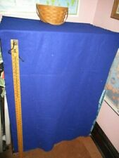 large piece of blue felt fabric, about 70 inch by 36 inches. for crafts and more