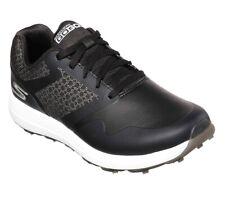 Skechers Performance GoGolf Spike-less Golf Shoes Black White Womens 8, 10