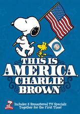 Peanuts: This Is America, Charlie Brown (DVD,1997)