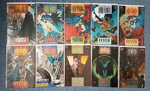 BATMAN LEGENDS DARK KNIGHT ISSUES 21-30 COLLECTION DC COMICS BAGGED & BOARDED