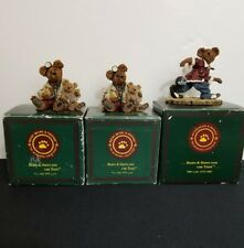 Boyd Bears & Friends set Of Three with Authenication Papers 20418-3 C0