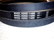 Toro Wheel Horse OEM  Original 114895  drive belt -new / unused  FREE SHIP