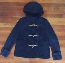 J Crew Melton Wool Classic Duffle Coat In Navy Size 6 $298