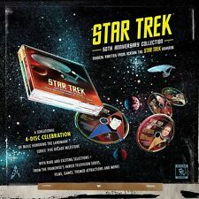 STAR TREK 50th Anniversary Collection LA-LA LAND Ltd Ed 4-CD Score BOX SET New!