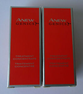 Brand New Avon Anew Genics Treatment Concentrate, 2x5ml (Trial/Travel Size)