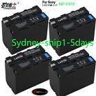 4x7900mAh Battery for Sony NP-F970 NP-F960 NP-F930 F770 CCD-TR TRV Camcorder