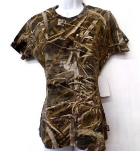 Women's Realtree Camo Short Sleeve T-Shirt S M L XL ~ New