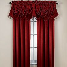 "INSOLA ThermalTEC Insulated Drapery Mira Maroon Window Curtain Panel 84""L"