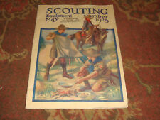May 1925 Boy Scout SCOUTING EQUIPMENT Catalog - 48 Pages - Rare