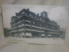 Vintage 1904 Cleveland Ohio City Hall By Rotograph Co. Cityscape