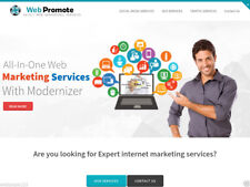 ReadyMade SEO Web Marketing Services Reseller Website - Updated PHP Version