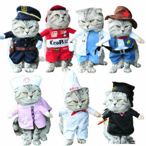 Funny Halloween Christmas Pet Clothes Cosplay Apparel Newest Dog Cat Costumes