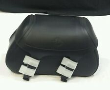 GENUINE YAMAHA Black Plain Saddle Bag Set STR-GA73-00-00