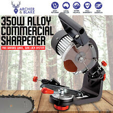 Unimac 350W 3000RPM All Alloy Commercial Chainsaw  Sharpener with LED Light