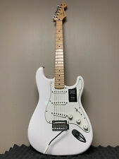 "FENDER STRATOCASTER POLAR WHITE ""PLAYER SERIES"" PAU FERRO ELECTRIC GUITAR"