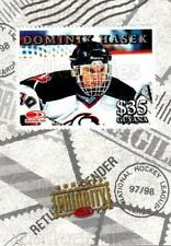 1997-98 Donruss Priority Stamps #31 Dominik Hasek