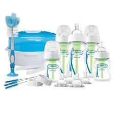 Dr Browns OPTIONS DELUXE NEWBORN BABY GIFT SET Steriliser Bottles Cleaning Brush