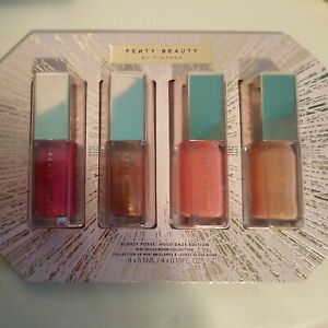 FENTY BEAUTY BY RIHANNA Glossy Posse HoloDaze Mini Gloss Bomb Set - New & Sealed