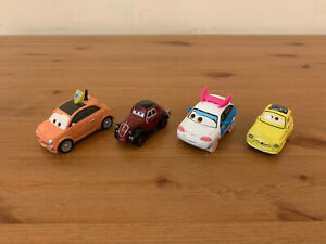 Disney Pixar Cars Luigi Cartney Carsper Uncle Topolino Suki Diecast Lot