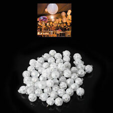 50 Led Ball Lamps Balloon Light for Paper Lantern Wedding Party Decoration Lamp