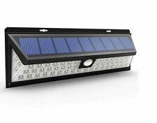 LED Outdoor Solar Power Wall Lamp Motion Sensor Security Flood Garden Light