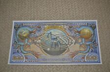 Joss Whedon Autographed Alliance Currency Firefly Serenity