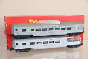 TRIANG R25 R125 TRANSCONTINENTAL TC VISTA DOME & OBSERVATION COACH BOXED nx