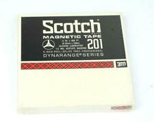 "Scotch 201 Reel to Reel Tape * 1/4"" X 1200 ft * Factory Sealed * New *"