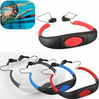 IPX8 Waterproof FM Radio 8GB/16GB MP3 Music Player For Diving Swimming Sport AU