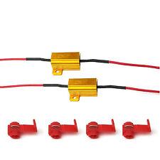 2pcs LED Load Resistors 25W 10 ohm LED Bulbs Flickering Hyper Flashing decoder