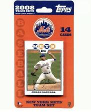 New York Mets 2008 Topps Factory Sealed Team Set MLB Baseball Cards - 14 Cards