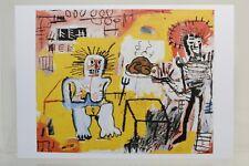 """JEAN-MICHEL BASQUIAT: """"ARROZ CON POLLO"""" 1981, rare Art-Postcard  NEW"""