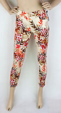 7 For All Mankind Jeans Josie Crop Caribbean Flowers Boyfriend W25