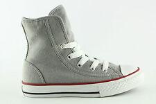 [D204] Converse Chucks All Star Super Hi Gr 31 US 13 Kinder Schuhe Drizzle Grau