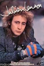 Julian Lennon 1986 Original Promo Poster