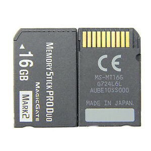 For Sony PSP Game Console / SLR Digital Camera 8-64GB Memory Stick Pro Duo Card