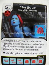 Avengers vs X-Men MYSTIQUE Could Be Anyone #114/132 rare Marvel Dice Masters
