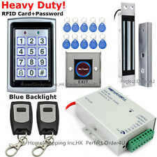 125KHz RFID Card+Password Door Access Control System+Magnetic Lock+2 Remotes TOP