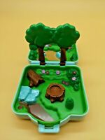 1997 Polly Pocket Visidian Forest Case Pokemon Playset by Tomy Sold As Is