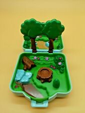1997 Polly Pocket Viridian Forest Case Pokemon Playset by Tomy Sold As Is