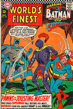 World's Finest #162 - Superman & Batman Visit King Arthur! - 1966 (Grade 4.5)