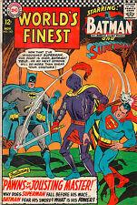 World's Finest #162 - Superman & Batman Visit King Arthur! - 1966 (Grade 4.5)