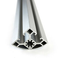 "Everest 80 Series Aluminum Extrusion 08-72 ~ Size 1.77"" x 1.77"" x 72"""